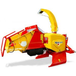 トラクター設置式ウッドチッパー