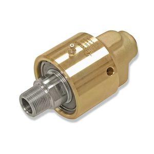 水用ロータリージョイント / 蒸気用 / 温オイル用 / 真ちゅう製