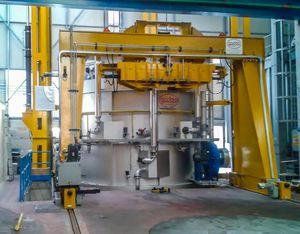 熱処理炉 / ベル / ガス / 窒素加工