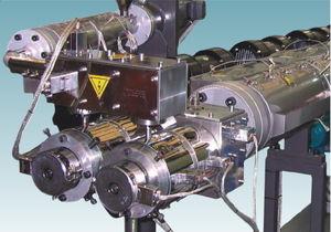 二重防壁仕様環状チューブコルゲータ / コルゲート パイプ製造用 / 押出成形ライン用