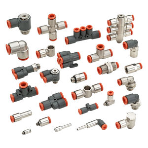 油圧継手 / ねじ式 / プッシュイン / ストレート