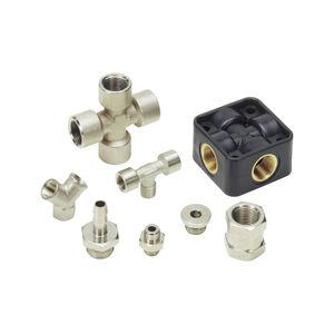 油圧継手 / ねじ込み / ストレート / T形