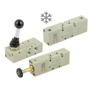 スプール空気圧方向制御弁