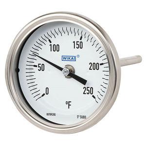 バイメタル温度計