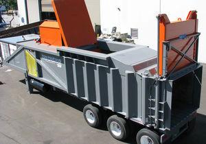 スクラップ廃棄物圧縮機