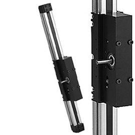 鋸歯状ベルト式リニア ユニット / 縦型