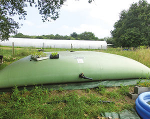 水貯蔵用タンク