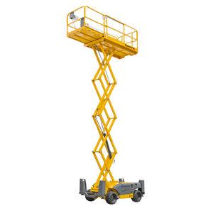 移動式シザーリフト用昇降カゴ / 全地形 / 屋外用 / ディーゼル式