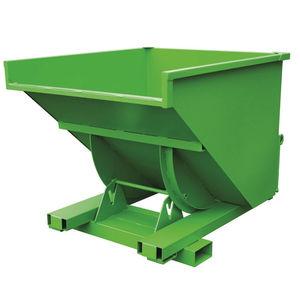 廃棄物用自動傾斜荷台