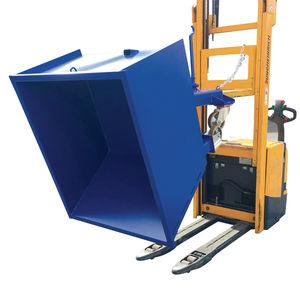 廃棄物用傾斜荷台