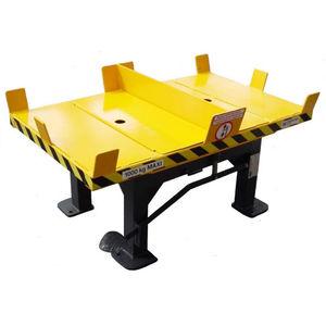 手動式回転台 / 横型 / 傾斜 / 大容量