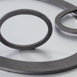 フラットシール材 / 円形 / 黒鉛 / 膨張黒鉛