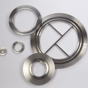Oシール材 / 円形 / ステンレススチール製 / 膨張黒鉛