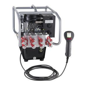 電動油圧パワ-ユニット / トルクレンチ用 / 携帯式