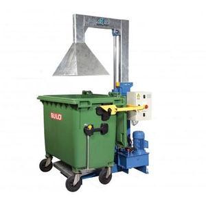 ボール紙廃棄物圧縮機