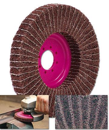 ポリエステル繊維研磨ディスク / バリ取り用 / 不織布