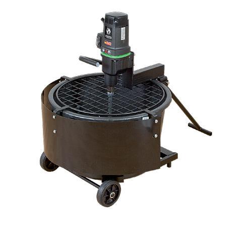 遊星歯車混合器 / バッチ式 / 液体 / 固体 / コンクリート用
