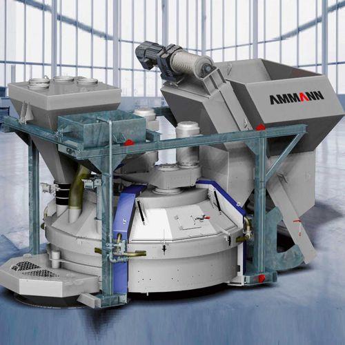遊星歯車混合器 / バッチ式 / コンクリート用 / 高性能