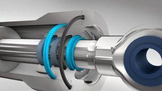 油圧シリンダー用シール材