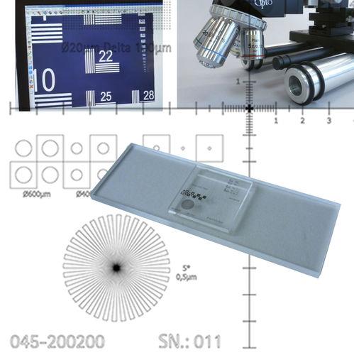 顕微鏡キャリブレーター