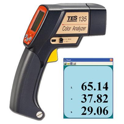 ポータブル色彩計 TES-135A色度分析用