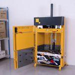 垂直荷造り機 / フロントローディング / テキスタイル用 / 洋服用