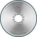 表面処理研削ホイール / 円柱 / セラミック接着式 CBN / カム回転軸用