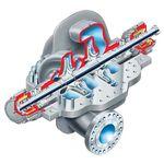 ガス用ポンプ / 水 / オイル / 油圧操作