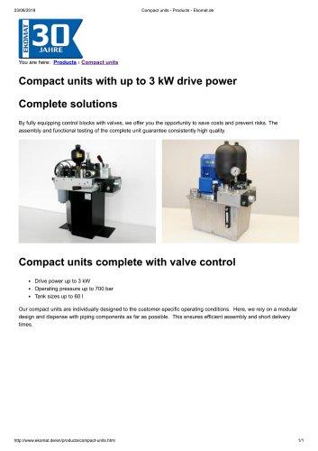COMPACT UNITS