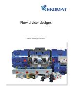 EKOMAT Flow divider designs