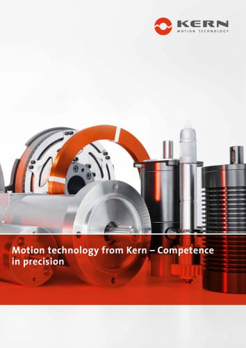 Drive Technology from Kern - Competence in Precision
