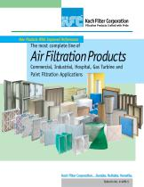 Air Filtration Products January 2013
