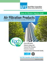 Air Filtration Products October 2010