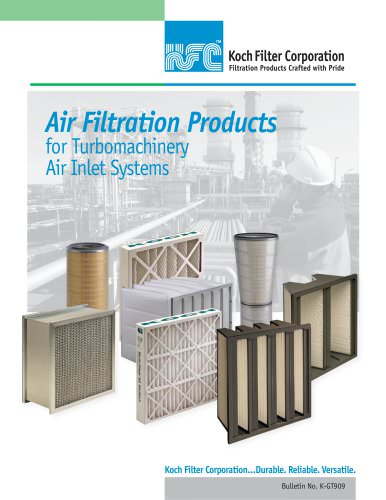 Air Filtration Products September 2009