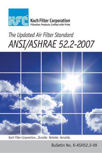 ANSI/ASHRAE 52.2-2007