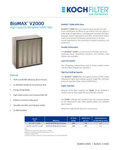 BioMAX V2000