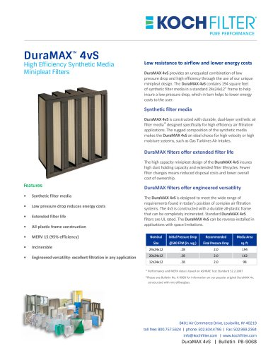 DuraMAX™ 4vS