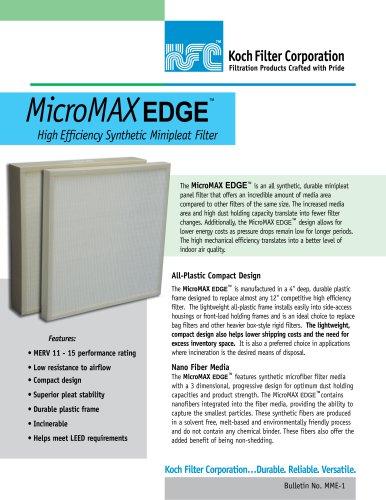 MicroMAX Edge brochure