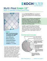 Multi-Pleat Green 13™