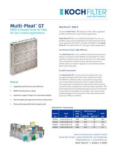 Multi-Pleat GT