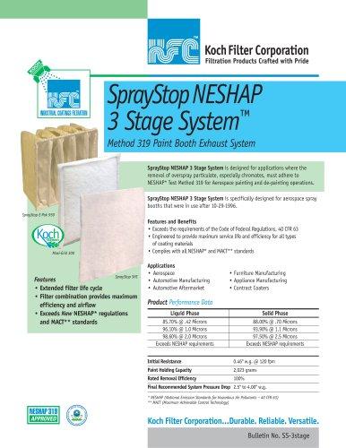 SprayStop NESHAP 3 Stage System