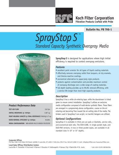 SprayStop S™