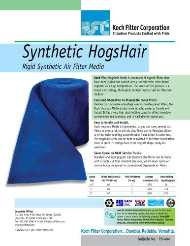 Synthetic Hogshair Media