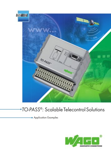 Interesting Applications: Scalable Telecontrol