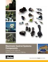 Electronic Control Systems Components Catalog HY33-1800/US North American Product Offering