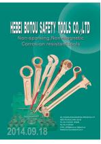 X-Spark Non Spark and Non Magnetic Safety Tools Catalogue