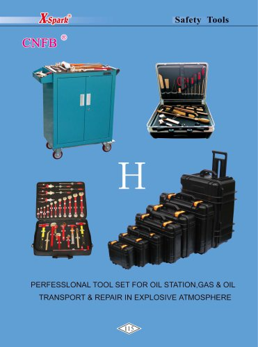 X-Spark Safety Tools Category H widely used in oil andgas works and explosive manufactories