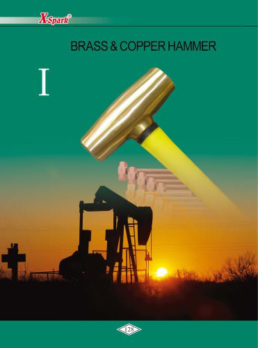 X-Spark Safety Tools Category I widely used in oil andgas works and explosive manufactories