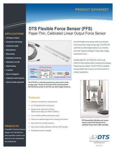DTS Flexible Force Sensor (FFS)