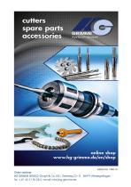 Catalog Milling Tools/Accessories